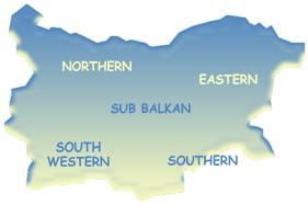 Map of Bulgaria